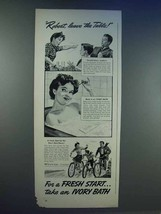 1942 Ivory Soap Ad - Robert, Leave the Table - $14.99