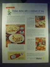 1959 Heinz Ketchup, Cream of Chicken Soup Ad! - $14.99