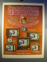 1969 General Electric Television Ad - See Red - $14.99