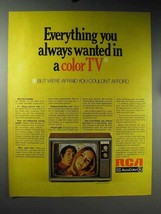 1971 RCA Solid State AccuColor Color TV Ad - $14.99