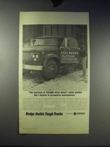 1966 Dodge Pickup Truck Ad - Overhaul at 220,000 Miles - $14.99
