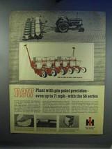 1967 IH Six-Row 58 Series Corn Planter Ad - $14.99