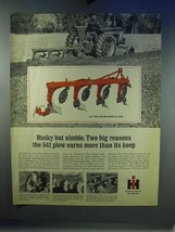 1967 IH 541 Four-bottom Mounted Plow Ad - $14.99