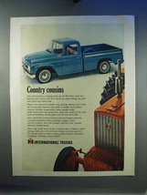 1967 IH Pickup Truck, Tractor Ad - Country Cousins - $14.99