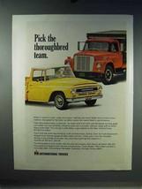 1967 IH International Loadstar, Pickup Truck Ad - $14.99