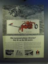 1967 International Harvester 200 Pitman Mower Ad - $14.99