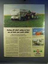 1967 Gulf Oil Chemical Fertilizer Ad, Your Grain Yields - $14.99