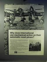 1968 International Harvester 700 Semi-mounted Plow Ad - $14.99