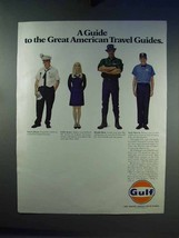 1969 Gulf Oil Ad - Guide to American Travel Guides - $14.99