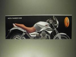 2004 Moto Guzzi Breva Motorcycle Ad - $14.99