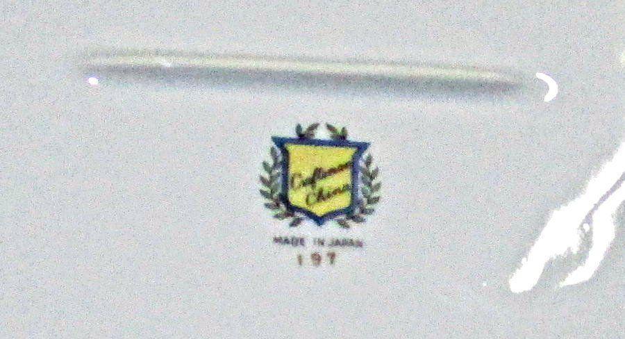 """Vintage Craftsman Fine Porcelain Platter 14"""" Pattern #197"""