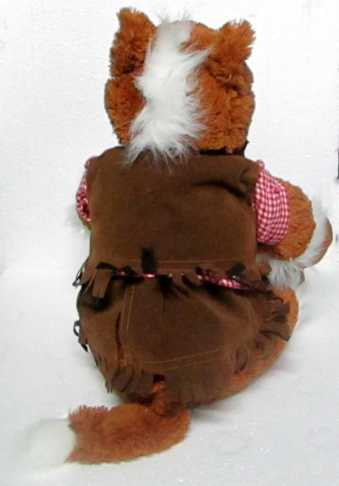 Build-A-Bear Pony Horse Cowgirl Outfit Plush Toy