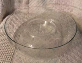 Vintage Princess House Heritage Hand Blown Crystal Chip-n-Dip Bowl #401  - $16.00
