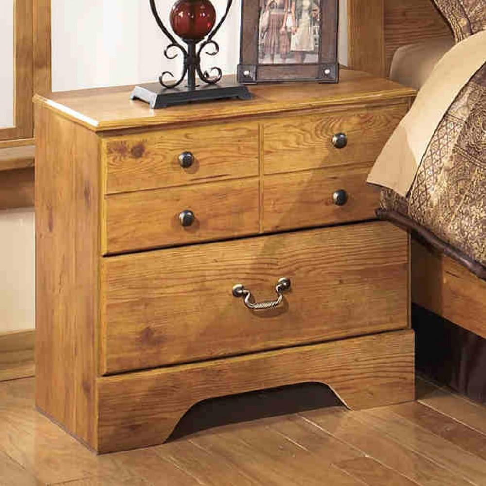 Ashley Bittersweet B219 Queen Size Sleigh Bedroom Set 2 Night Stands Casual Bedroom Sets