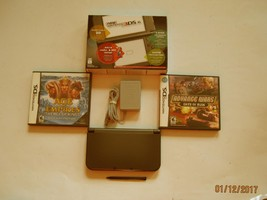 Nintendo New 3DS XL Black  w Advance Wars & More !! - $259.99