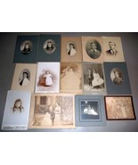 Samuel L. Smedley Family (14) Antique Cabinet Photos -Philadelphia, PA - $244.50