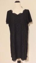 JOIE $328 Black Lace Short Sleeve Shift Dress--SZ 8--EXCELLENT CONDITION!!! - $86.95