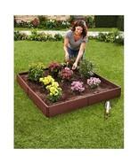 Adjustable Raised Garden Bed Design Your Flower Vegetable Garden Panels ... - $36.98