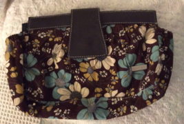 Retired Miche Full wraparound Classic Shell ASHLEY Brown with Flowers - $16.00