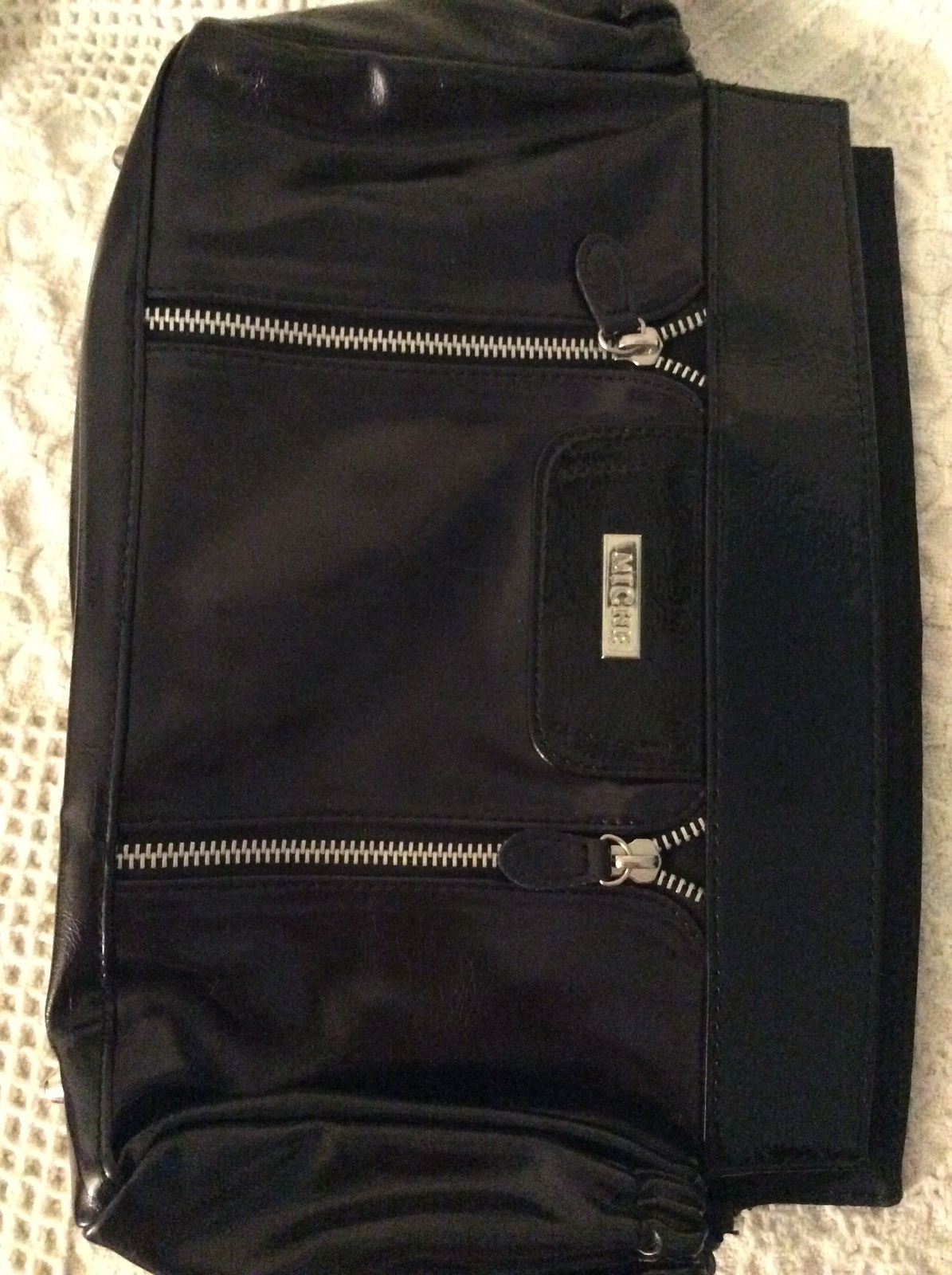 Retired Miche Full wraparound Classic Shell BELLE in Black with Zippers