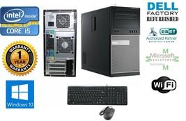 """Dell 7010 Tower i5 2400 Quad 3.1GHz 8GB 120gb Ssd Win 10 Pro 64+ Monitor 20"""" - $638.91"""