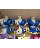 EL SALVADOR Soccer Jersey Womens Short sleeve S... - $28.50