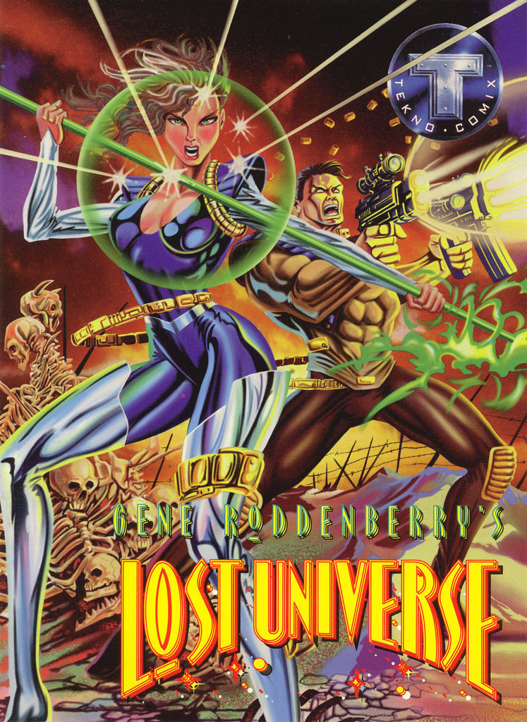 Gene Roddenberry's Lost Universe Promo Sheet image 1
