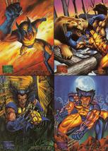 1995 Marvel Masterpieces Promo Card Sheet - $3.49