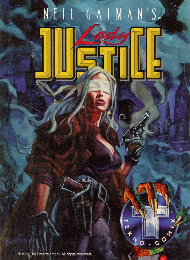 Lady Justice/Teknophage Promo Sheet