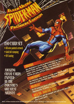 Fleer Ultra Spider-Man Uncut Promo Sheet image 2