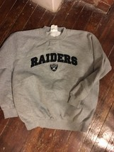 MENS RAIDERS SWEATSHIRT - $25.00