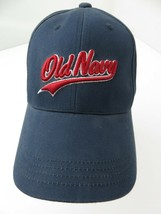 Old Navy Blue Fitted L/XL Adult Baseball Ball Cap Hat - $12.86
