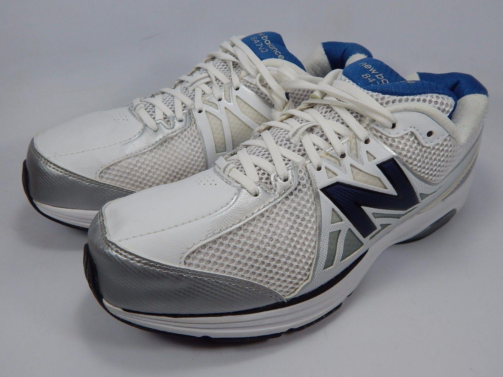 New Balance 847 v2 Men's Walking Shoes Size US 10 M (D) EU 44 White MW847WT2
