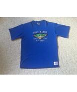 Vtg Fort Wayne Wizards Men's Blue Embroidered TShirt Size XL - $6.90