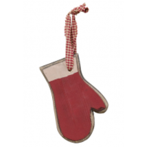 Wooden  33403 Red Mitten Ornament - $3.95