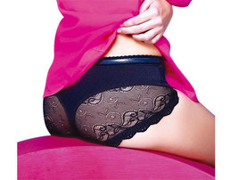 Panty Invisible thong Silicon Panty UP No Slip Vicky Form S-XL Model 382... - $16.19