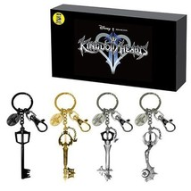 Kingdom Hearts Keyblade Keychain 4-pk Set SDCC ... - $59.95