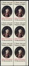 1789Ad, MNH 15¢ Imperforate Between Block of Six Stamps ERROR - Stuart Katz - $225.00