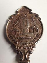 Copper King Mansion Silver Plated Spoon  - $10.00