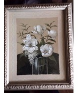 "White Flower  Wall Art 9 1/2"" x 11"" - $19.79"