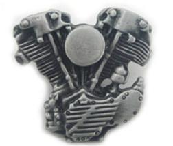 Harley knucklehead Engine Motor Lapel Hat Jacket Pin   48-1502 - $9.50