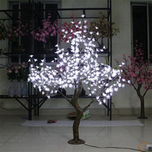 5ft 1.5M White LED Simulation Cherry Blossom Tree Wedding Christmas Light deco - $459.00