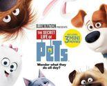 The Secret Life of Pets (Blu-ray + DVD) Brand New