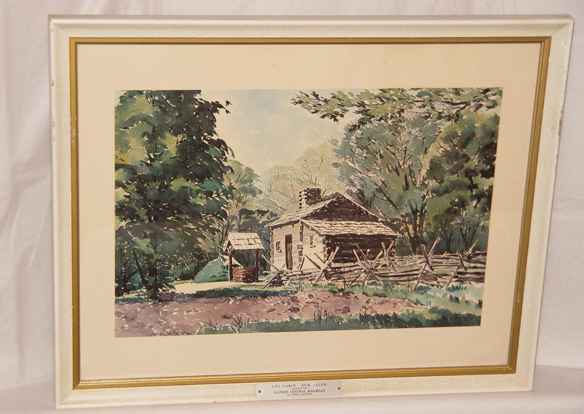 Two (2) Phil Austin Watercolor Prints for and 50 similar items