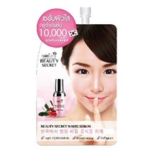 6 X 7 G. Nami Beauty Secret White Serum Gluta 10,000 mg. Facial Aura Bri... - $14.95