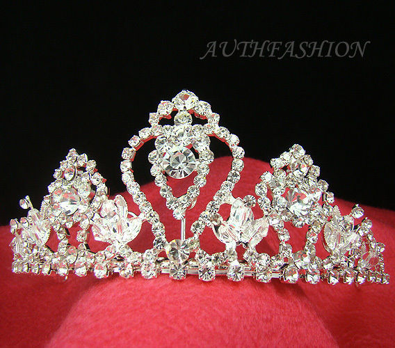 60abc4b09cf0 S l1600. S l1600. Previous. Bridal Tiara Head Band Swarovski Crystal  Special Silver Plated Wedding Crown C04