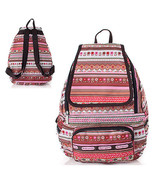 HOT SALE Pretty Pattern Backpack Womens School Bag Water Proof FLORAL SP... - $17.33