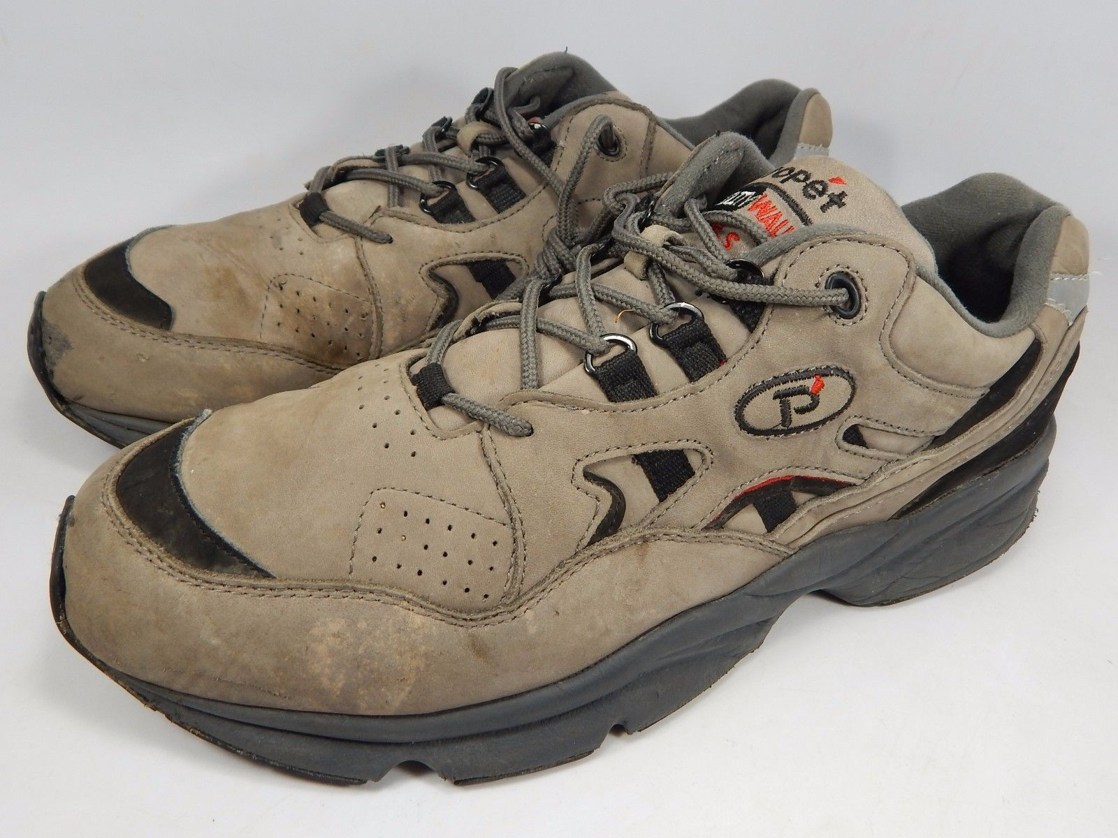 Propet M2034 Men's Slip Resistant Beige Nubuck Stability Walker 14 M (D) EU 49