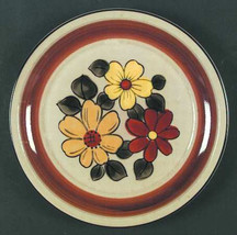 "Daisy Vale Tan Collectible Large Dinner Plate 10 3/4""  Made in Japan - $15.99"