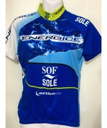 Voler Womens S Blue Bike Cycling Jersey Blue Energice Sof Sole Active Elite - $32.83